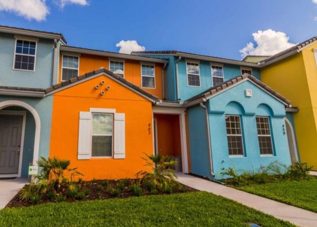 three bedroom townhome in festival resort orlando